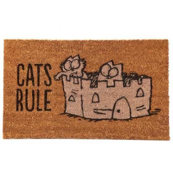 FUSSMATTE - SIMON'S CAT - CATS RULE