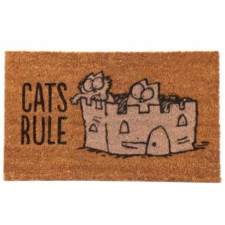 PAILLASSON - SIMON'S CAT - CATS RULE