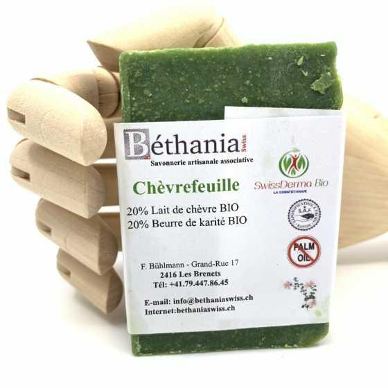 Savon Chèvrefeuille, savonnette naturelle bio