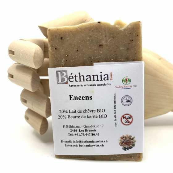 BETHANIA Weihrauch Seife