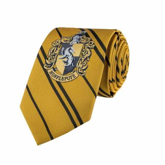 Erwachsene - Hufflepuff Krawatte - Gewebtes Abzeichen