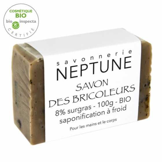 NEPTUNE Seife für Heimwerker - BIO handgemacht, Schweizer, Fribourg,