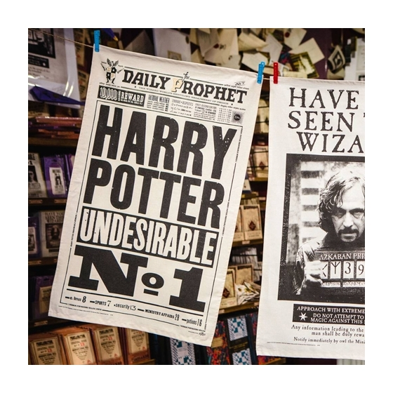 Geschirrtuch - The Daily Prophet - Harry Potter Undesirable No. 1