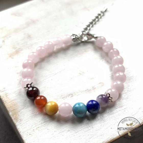 "Bracelet 7 Chakras ""Amour"""