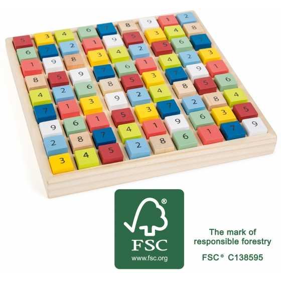 """Sudoku multicolore """"Educate"""""""