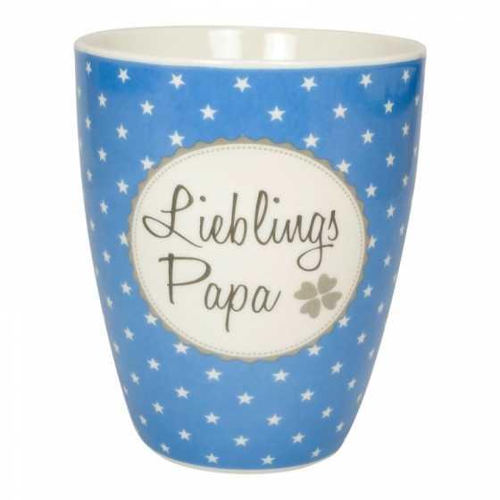 """Becher Porzellan """"Lieblings Papa"""""""