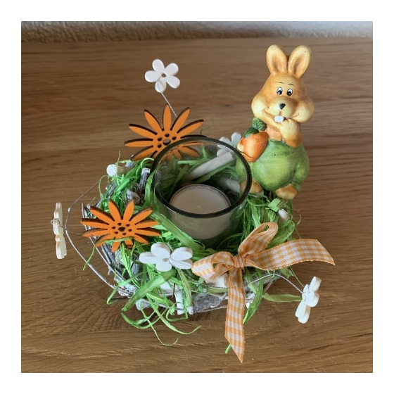 Oster-Kerzenbehälter