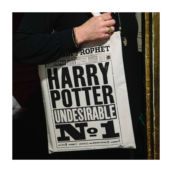 Sac en toile - The Daily Prophet - Harry Potter Undesirable No. 1