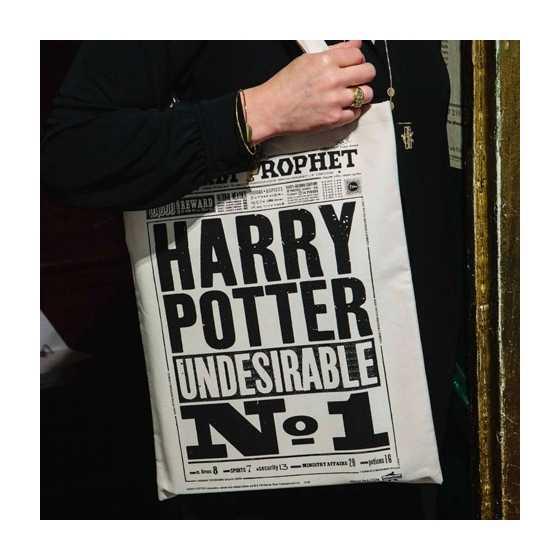 Sac fourre-tout représentant un design original crée par MinaLima™ pour les films Harry Potter™.