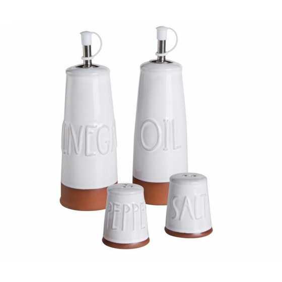 Essig-, Öl-, Salz- und Pfefferset