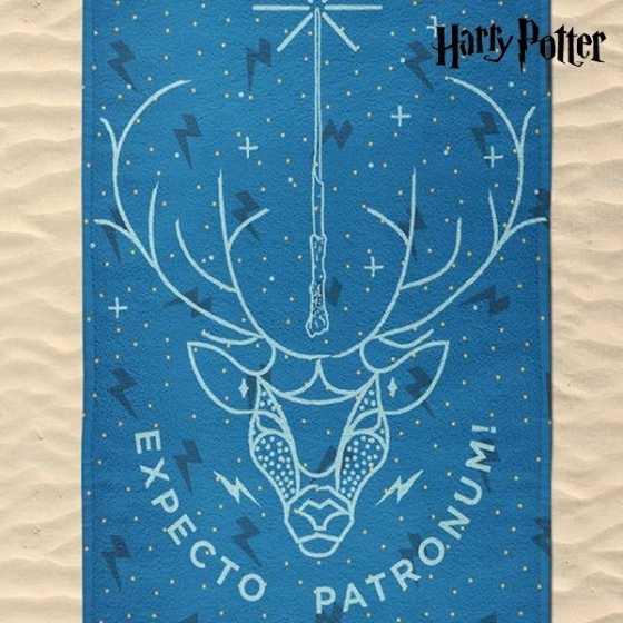 SERVIETTE DE PLAGE HARRY POTTER EXPECTO PATRONUM