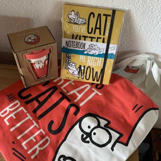 """SET cadeaux """"Simon's Cat"""""""