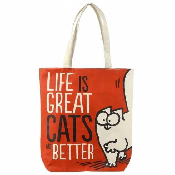 SAC EN COTON SIMON'S CAT - FELINE GOOD