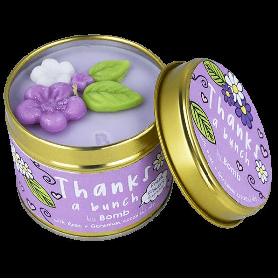 Thanks a Bunch bougie parfumée en boîte