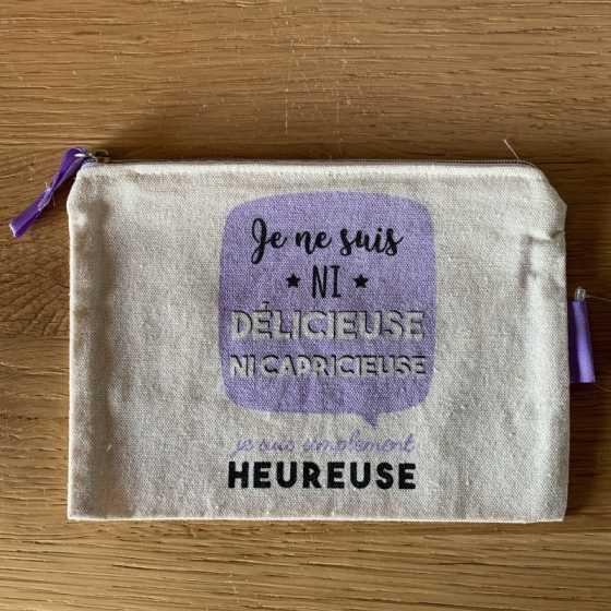 """Petite Trousse à cosmétiques """"DELICIEUSE"""""""