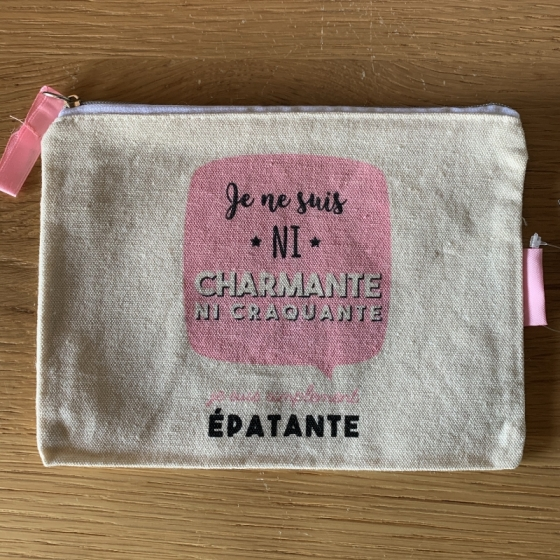 """Petite Trousse à cosmétiques """"CHARMANTE"""""""
