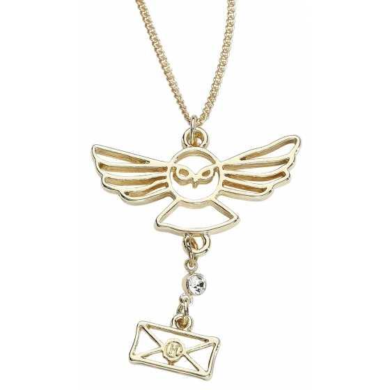 Halskette Hedwig und Brief - Harry Potter