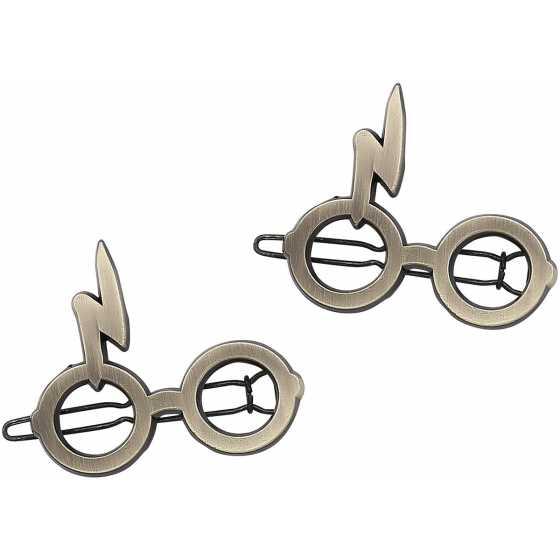 Barette lunettes et éclair - Harry Potter