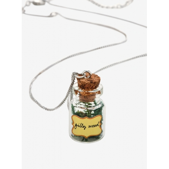 Collier Flacon Gilly Weed - Harry Potter
