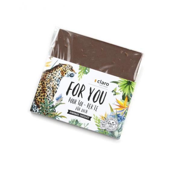 "Chocolat au lait ""For you"" BIO"