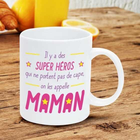 Mug Maman - Super-Héros