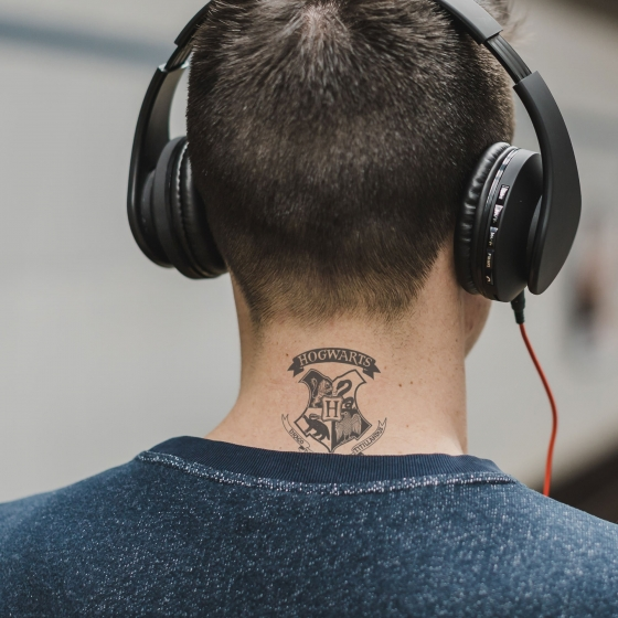 Pack de 35 tatouages temporaires - Harry Potter