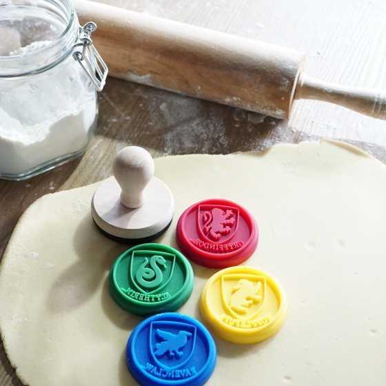 Lot de 5 tampons silicone pour cookies - Harry Potter