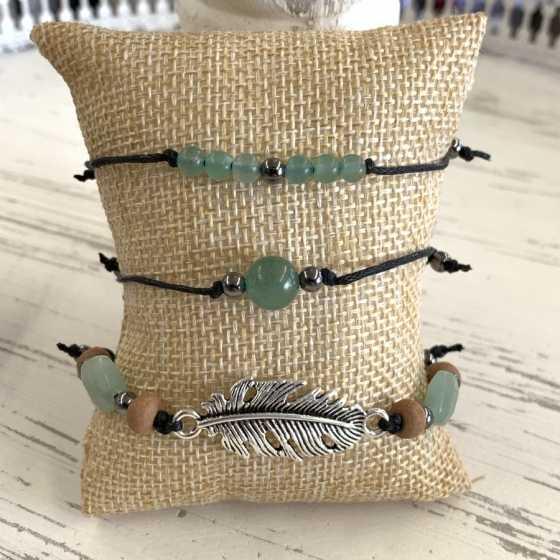 Armbändern aus Aventurin