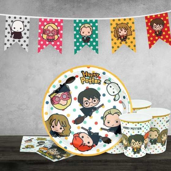 Pack d'anniversaire Harry Potter - Personnages