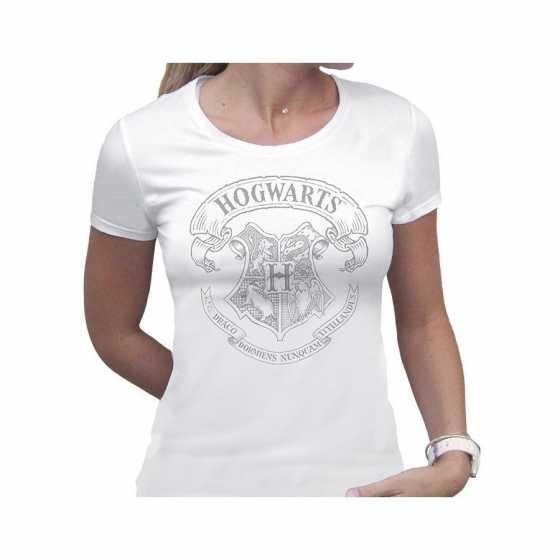 T-Shirt Harry Potter Femme Poudlard Hogwarts
