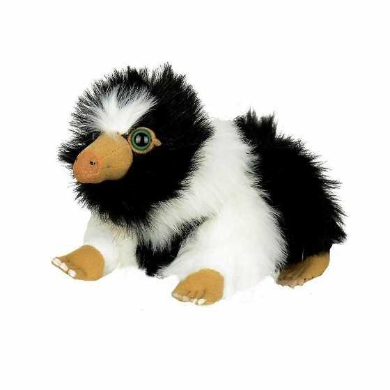 Peluche Bébé Niffleur noir et blanc- Les Animaux Fantastiques