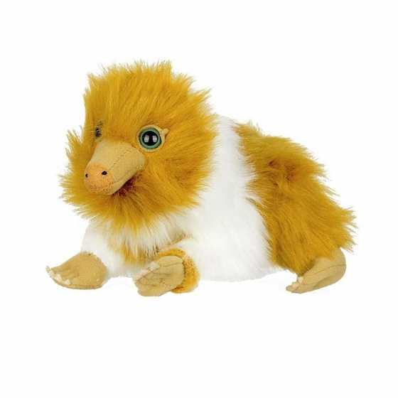 Oranger Weiss Niffler-Baby-Plüsch - Fantastische Tiere