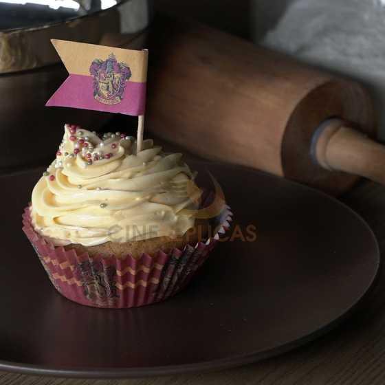Caissettes à muffins/ cupcakes + drapeaux Harry Potter