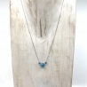 "Collier Apatite ""Simplicity"""