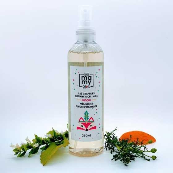 Mamyslow Les Crapules - Mizellen-Lotion, veganes Produkt, Schweizer biologisches handwerkliches Baby-Produkt