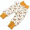 Sarouel bébé, Renard en coton jersey Bio, 0-3 mois, couture création artisanale, cadeaux naissance