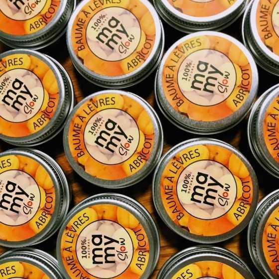 Mamyslow Lippenbalsam, veganes Produkt, Schweizer biologisches handwerkliches Baby-Produkt