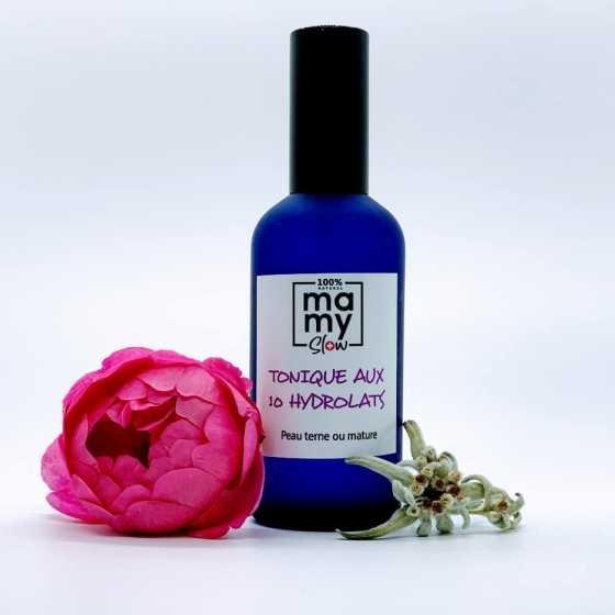Mamyslow Tonic für stumpfe und reife Haut, veganes Produkt, Schweizer biologisches handwerkliches Baby-Produkt