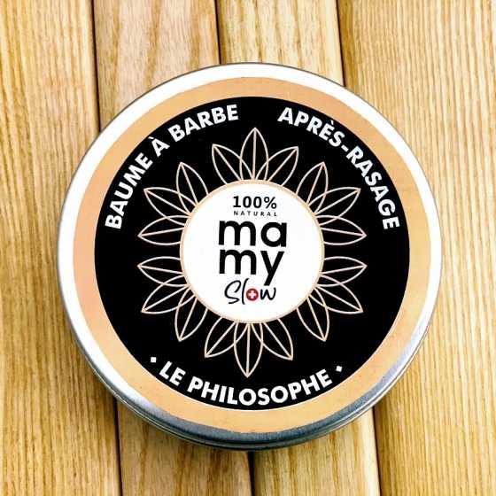 Mamyslow, baume à barbe, rasage, produit vegan, bio artisanal suisse cosmétiques
