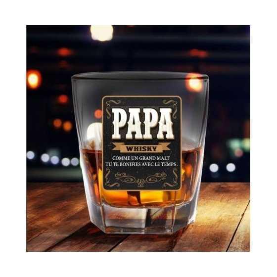 WHISKEY-GLAS PAPA