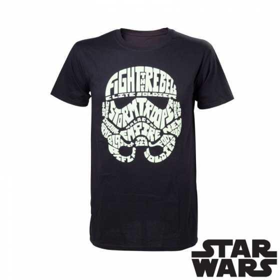 T-Shirt Stormtrooper Phosphorescent Star Wars