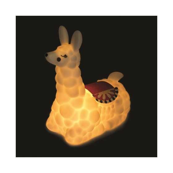 Cette veilleuse des plus craquantes prend la forme d'un lama.