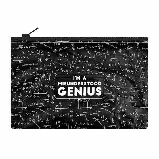 Funky Collection Reissverschlussbeutel - Genius, Legami
