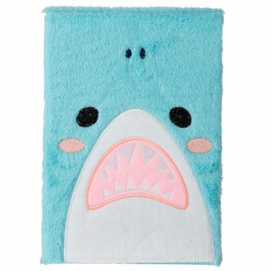 Shark Cafe Plüsch Hai Fluffies Notizbuch