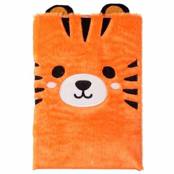 Cutiemals Tiger Fluffies Plüsch Notizbuch