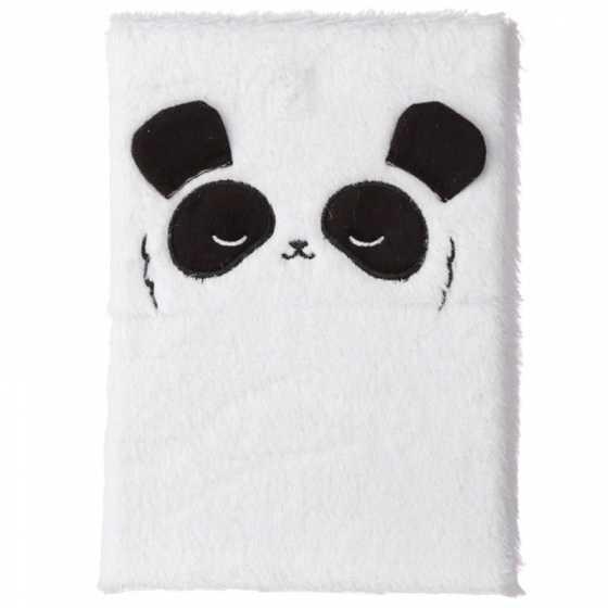 Pandarama Fluffies Plüsch Notizbuch