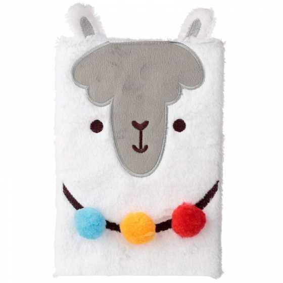 Llamapalooza Lama Fluffies Plüsch Notizbuch