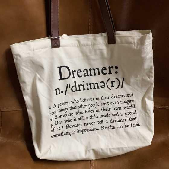 Bags&Co - Shopping Bag -Dreamer, sac, Legami, idées cadeaux, boutique, anniversaire Noël, fribourg